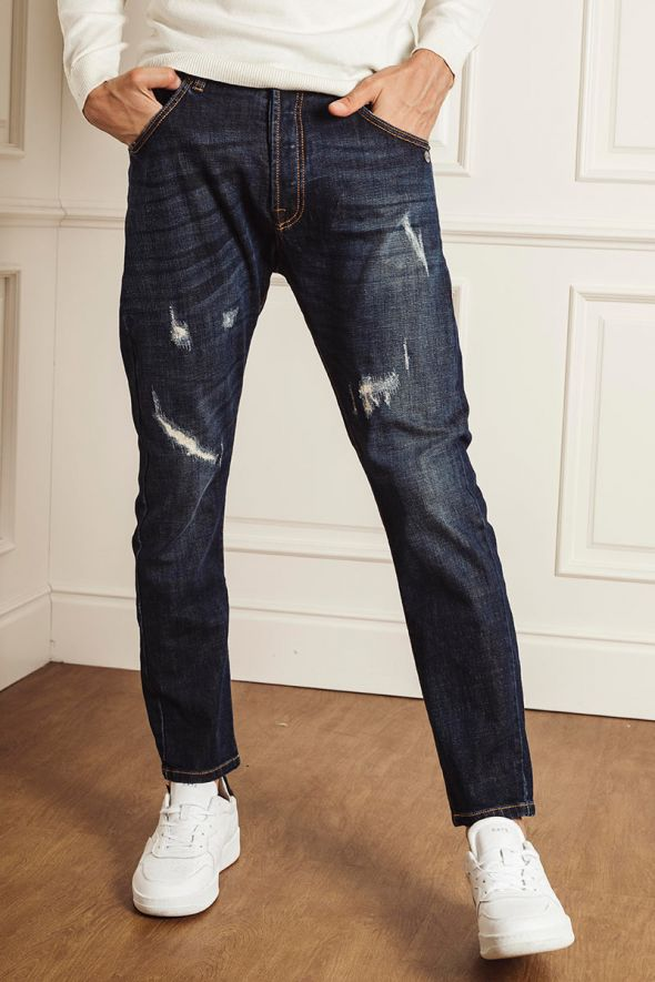 Berna Jeans carrot fit con rotture