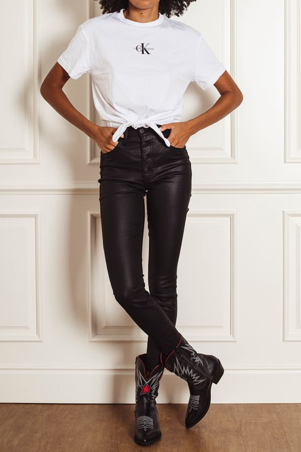 Calvin Klein High Rise super skinny ankle jeans