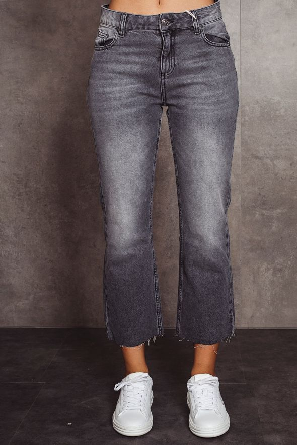 Kontatto Jeans Flaire cropped