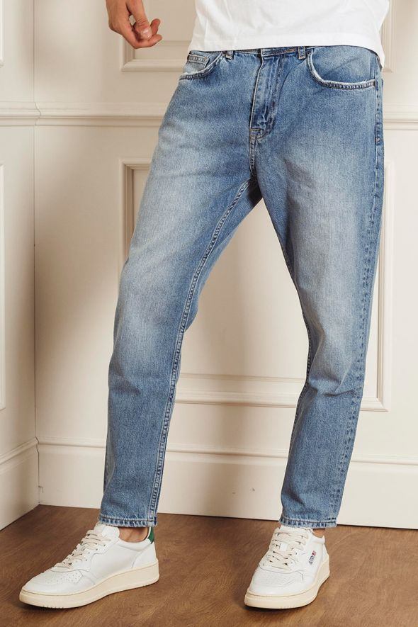P.GRAX Jeans Blacksmith HB45 Cropped Fit