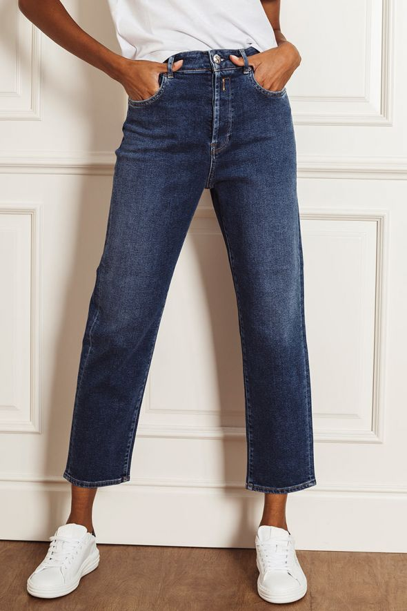 Replay Jeans mom fit tyna rose label