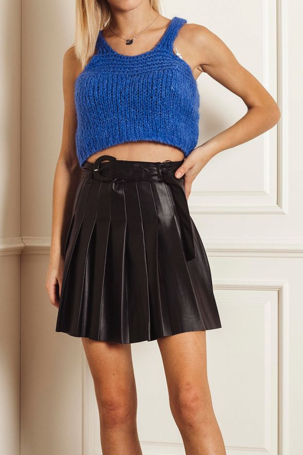 Susy Mix Top mohair crop