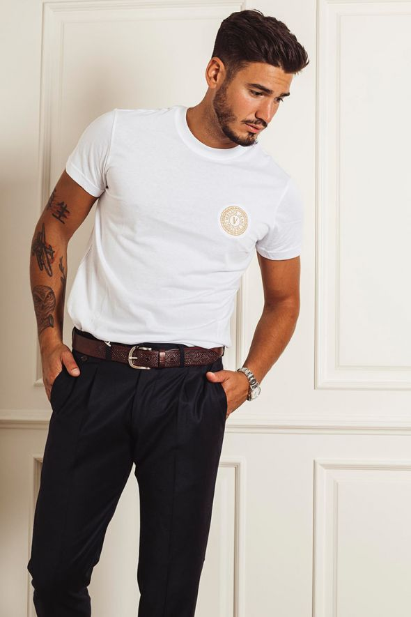 VERSACE JEANS COUTURE T-shirt in cotone con logo