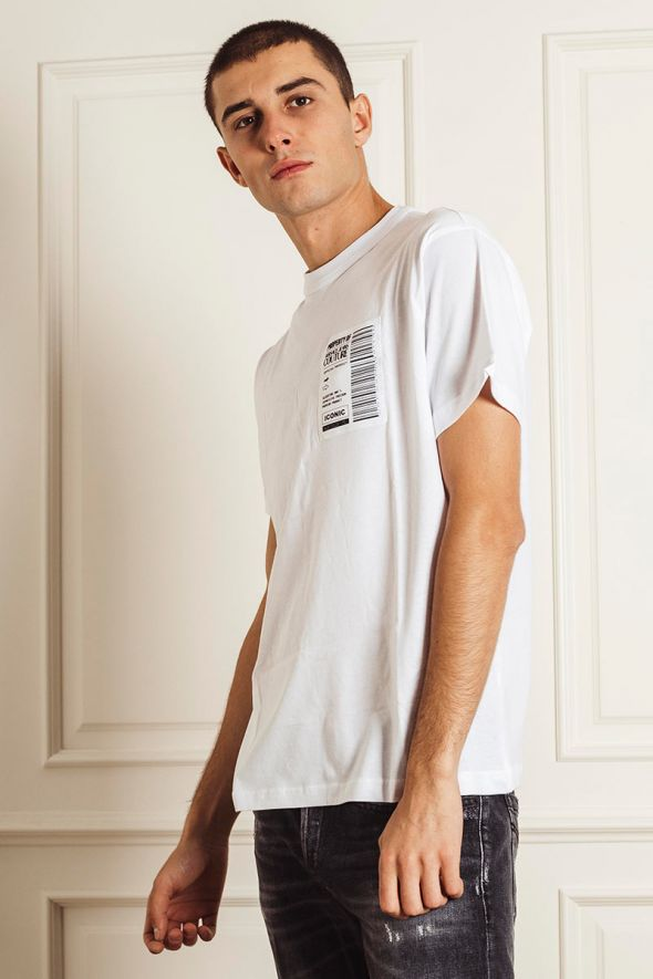 VERSACE JEANS COUTURE T-shirt stampa logo