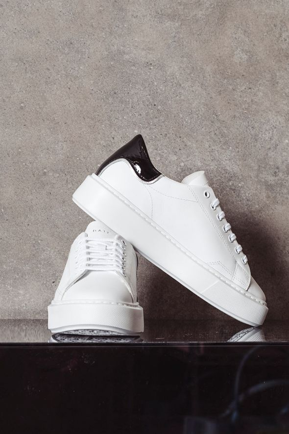D.A.T.E. Sneakers donna SFERA CALF white black