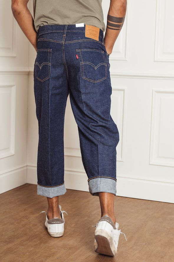 LEVI'S Jeans STAY LOOSE PLEATED CROP