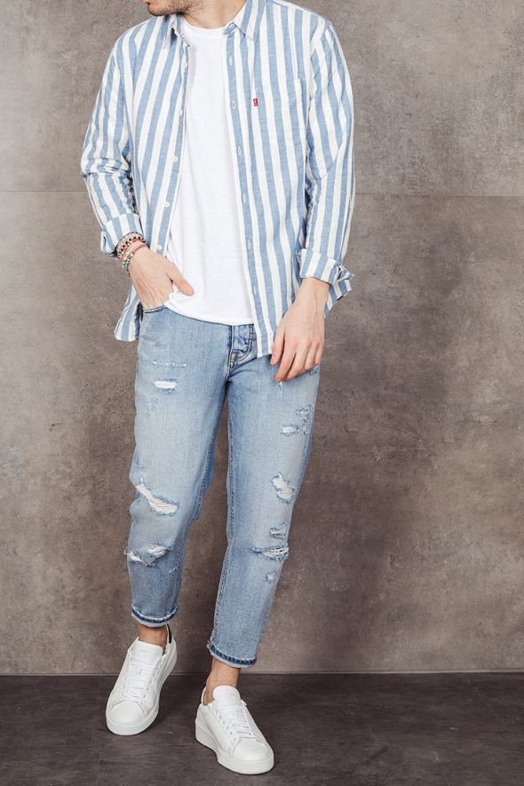 LEVI'S Camicia SUNSET a righe