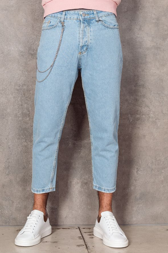 MAIN DELUXE Jeans chino cropped