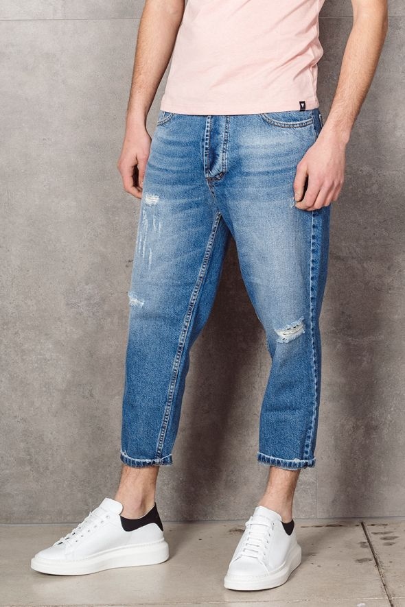 MAIN DELUXE Jeans larghi basic