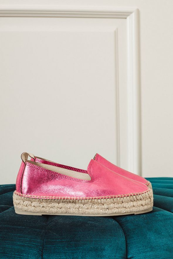 MANEBI' Espadrilles Hamptons blush