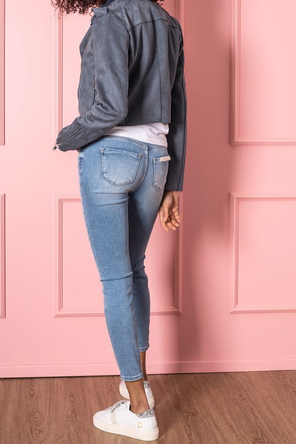 Only Jeans skinny lavaggio medio