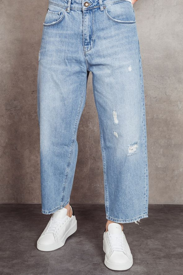 P.GRAX Jeans WELDER over cropped