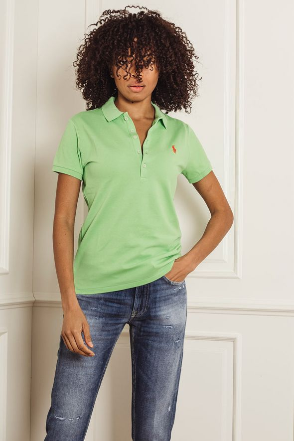 POLO RALPH LAUREN Polo Slim-Fit green