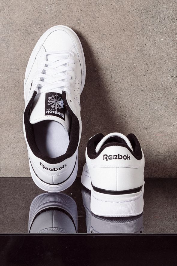 REEBOK Sneakers uomo AD COURT white black