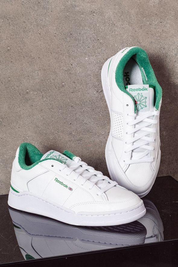 REEBOK Sneakers uomo AD COURT white green