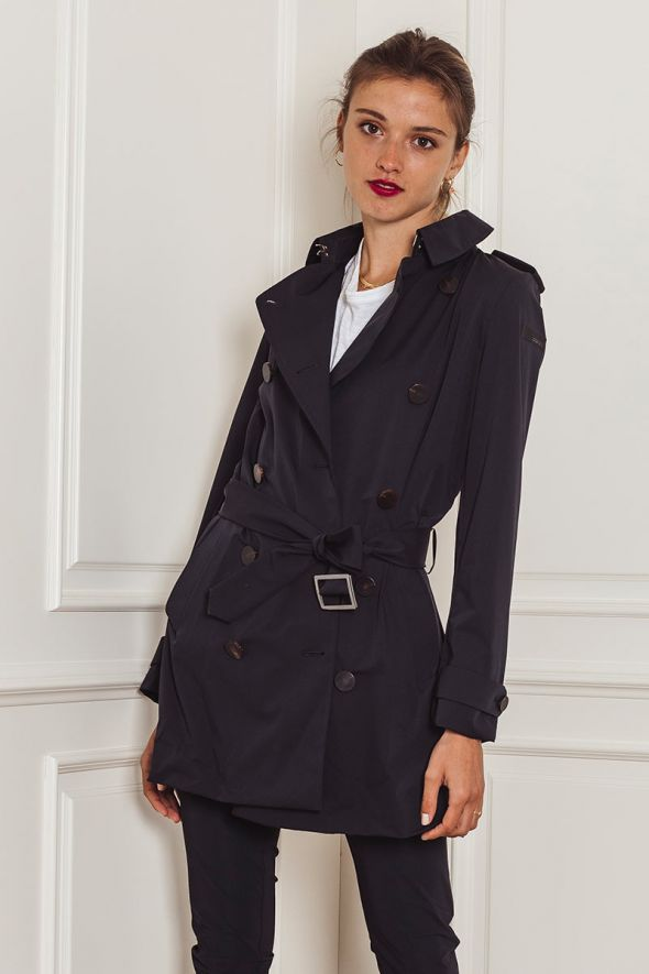 RRD Summer City Rain Trench blu