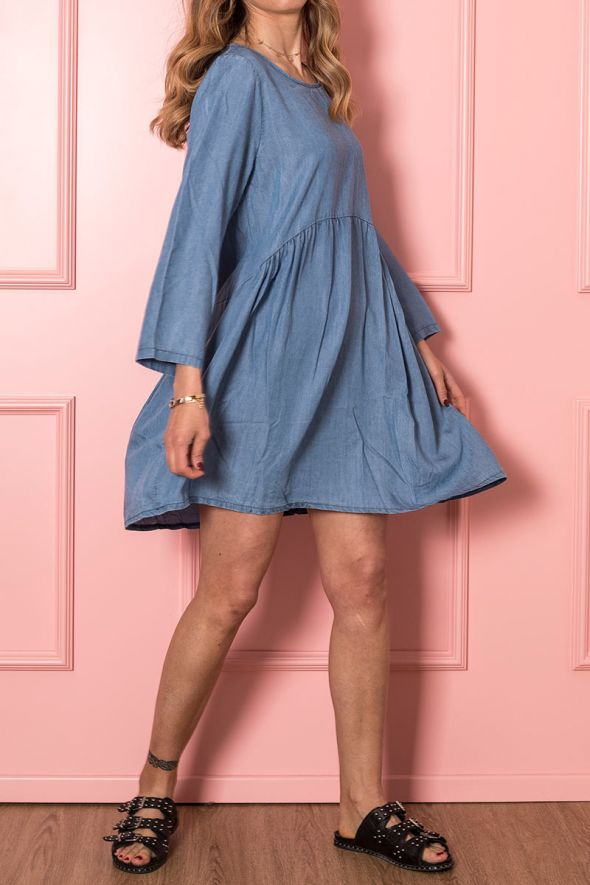 Susy Mix Abito in chambray