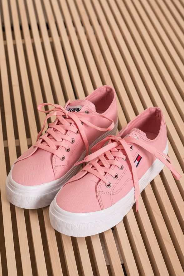 Tommy Hilfigher Sneakers con logo laterale