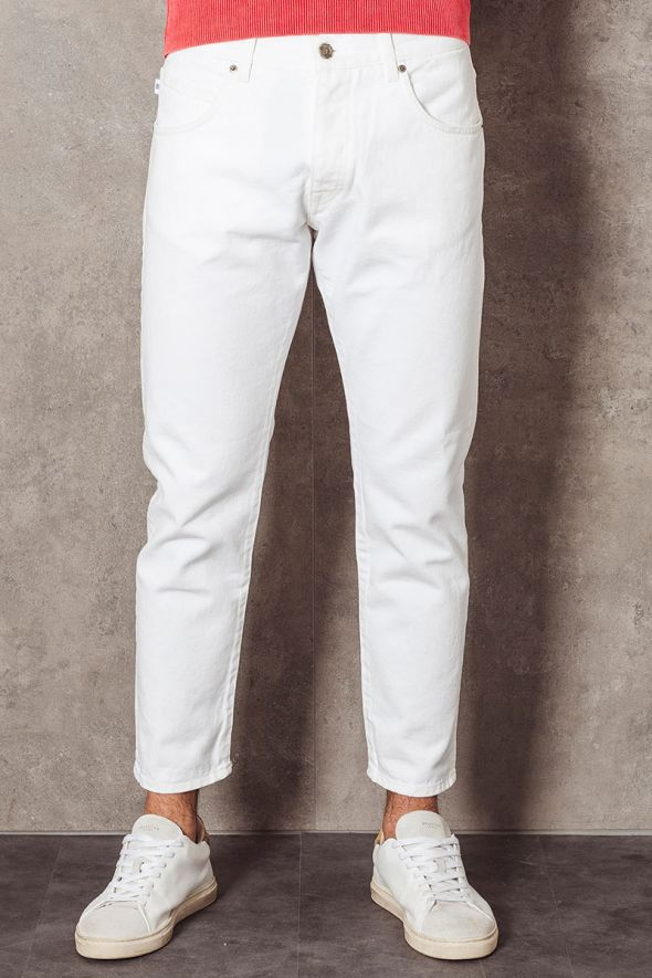 2MEN Jeans FARRAN denim bianco