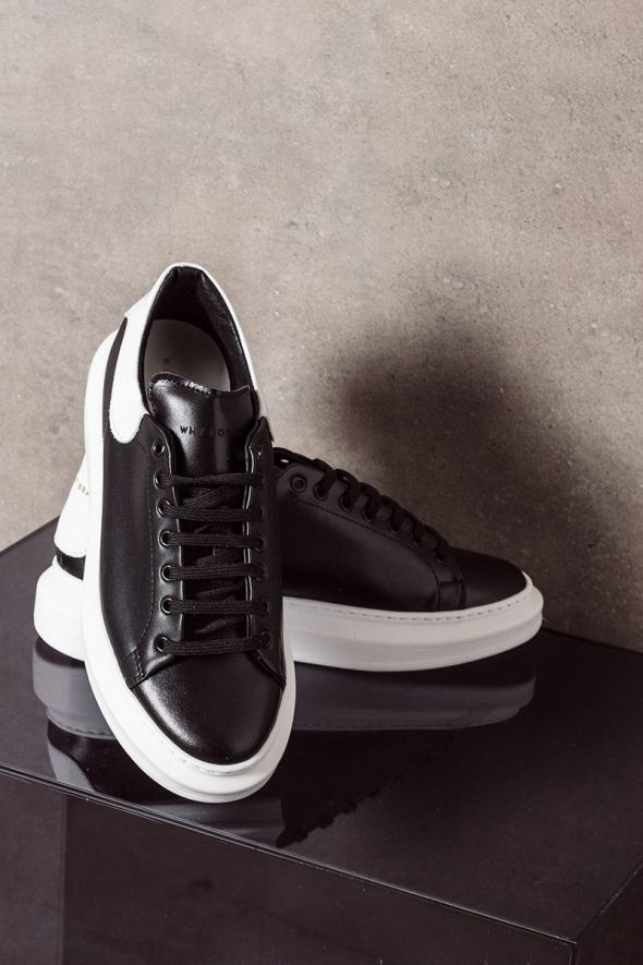 WHY NOT BRAND Sneakers oversize nero bianco