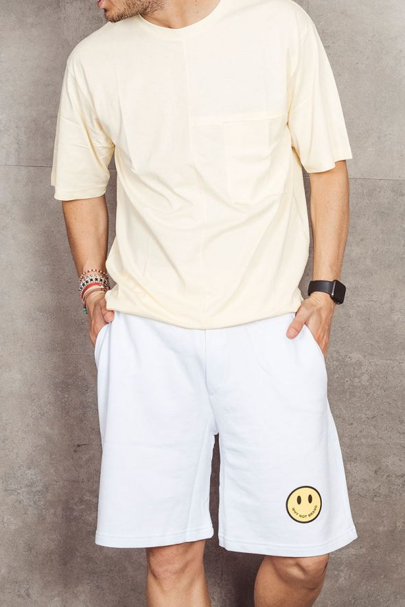 WHY NOT BRAND T-shirt oversize gialla