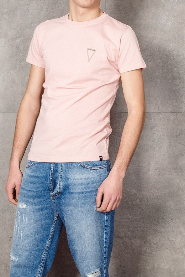 WHY NOT BRAND T-shirt rosa con logo