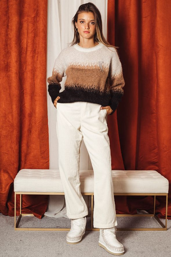 Replay Pantalone straight fit in corduroy
